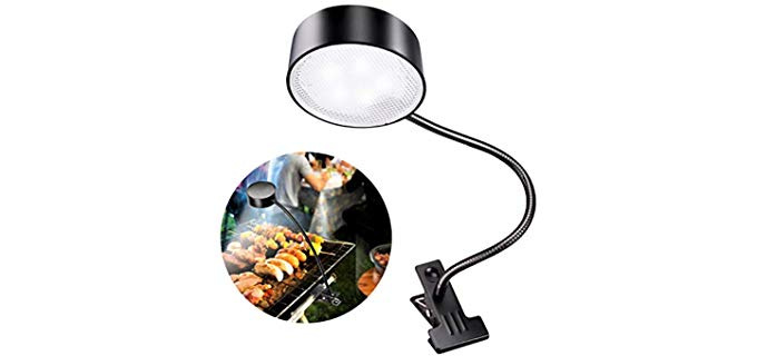 LeiDrail Solar - Clip On BBQ Grill Light