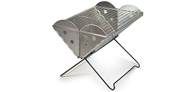 UCO Flatpack - Foldable Camping Grill and Fire Pit