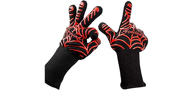 Acmind Extreme Heat - Grill and All Purpose Heat Gloves
