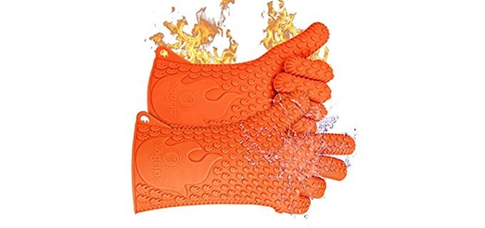 Jolly Green Products Ekogrips - Grill Gloves