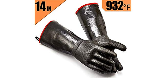 RAPICCA BBQ - waterproof Grill Gloves
