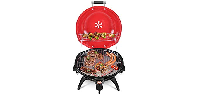 Techwood Indoor/Outdoor - Electric Barbeque Grill