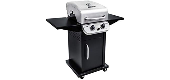 Char Broil Performance 300 - Apartment Patio or Balcony Gas and Charcoal Grill