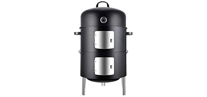 Realcook Vertical - Charcoal Grill Smoker