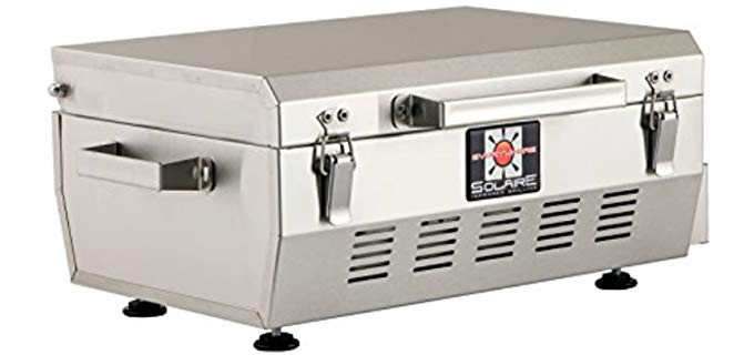 Solaire Anywhere - Portable Infrared Propane Gas Grill