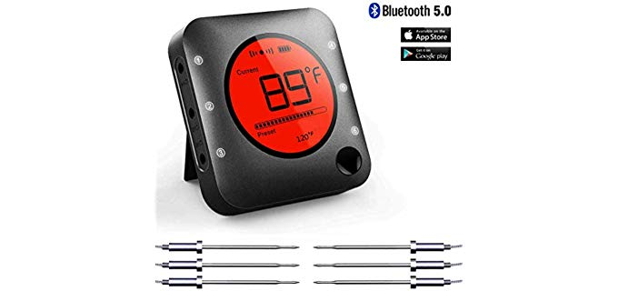 BFOUR Smart Wireless - Bluetooth Grill and Meat Thermometer