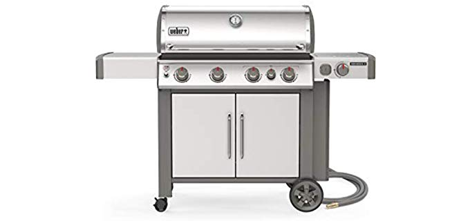 Weber Genesis 2 - Stainless Steel Natural Gas Grill