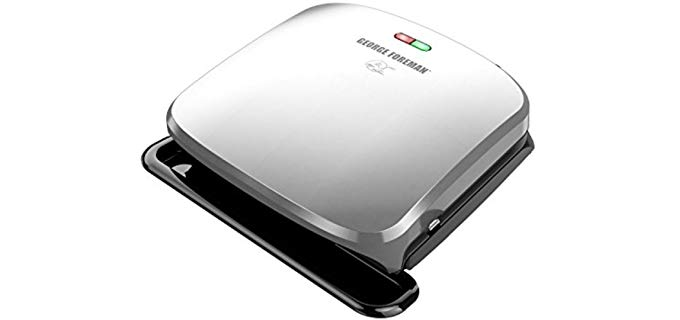 George Foreman Platinum - Removable Plate Grill