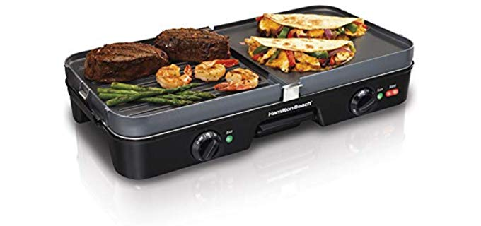 Hamilton 3 in 1 - Table Top Flat Top Grill