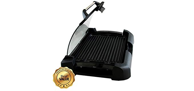 MegaChef Dual Surface - Electric Indoor Grill