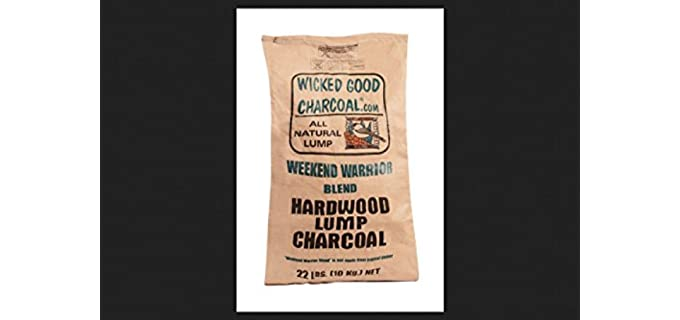 Wicked Wood Charcoal Lump Bag - Lump Charcoal