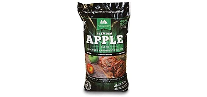 Green Mountain Premium Apple - Apple Wood Pellets for Smoking
