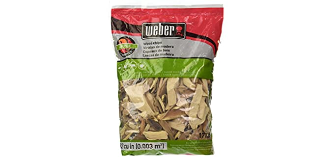 Weber Chips - Wood Chip Pellets for Smoking