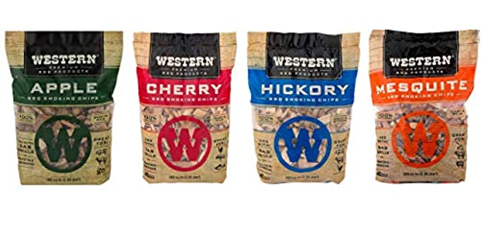 Western BBQ Smoking - Wood Pellets for Smoking