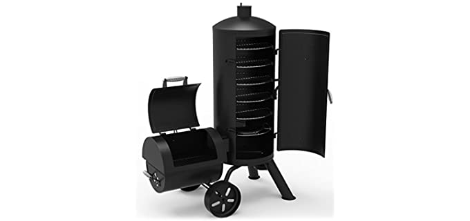 Dyna-Glo Vertical - Offset Smoker & Grill