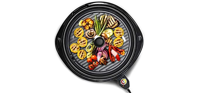 Elite Gourmet Indoor - Electric BBQ Grill