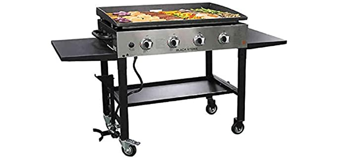 Blackstone Outdoor - Stainless Steel Grill