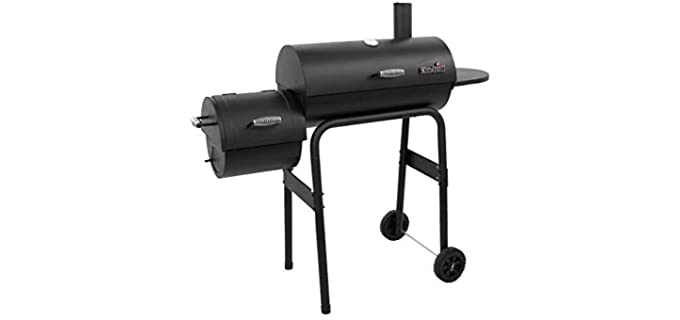 Char-Broil 12201570-A1 - Charcoal Offset Smoker