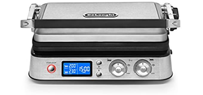 DeLonghi All Day - Combination Contact Grill
