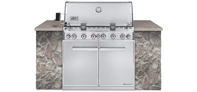 Weber Summit S-660 - Built-In Gas Grill