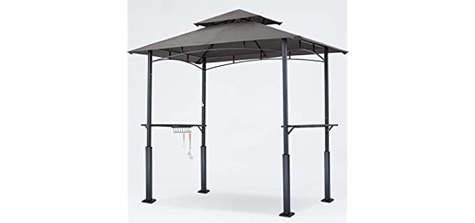 ABCCANOPY Double Tiered - Grill Gazebo