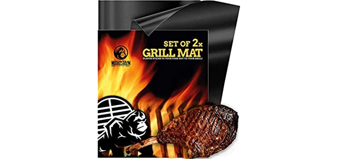 Mountain Grillers Heavy Duty - BBQ Grill Mats