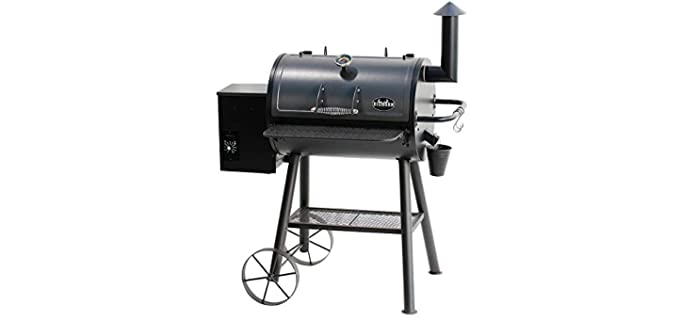 BIG HORN OUTDOORS 6-In-1 - Pellet Grill and Smoker