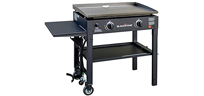 Blackstone Flat Top - Gas Grill Griddle Station