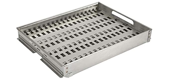 Coyote CCHTRAY15 - Variable Charcoal Tray for Gas Grill