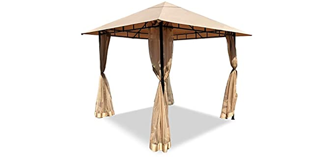 DikaSun Outdoor - Grill Gazebo