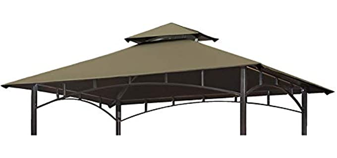Eurmax Double Tiered - Canopy Grill Gazebo