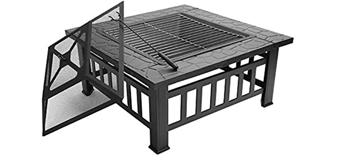 FCH Square - Fire Pit and Grill