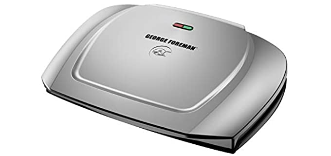 George Foreman GR2144P - Basic Plate Electric Grill