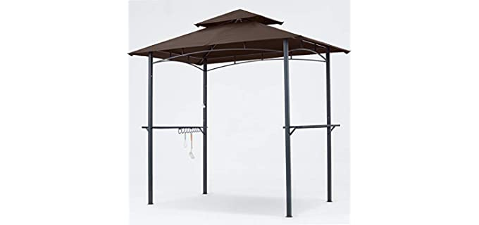 MasterCanopy Grill Gazebo - LED Lighted Grill Gazebo