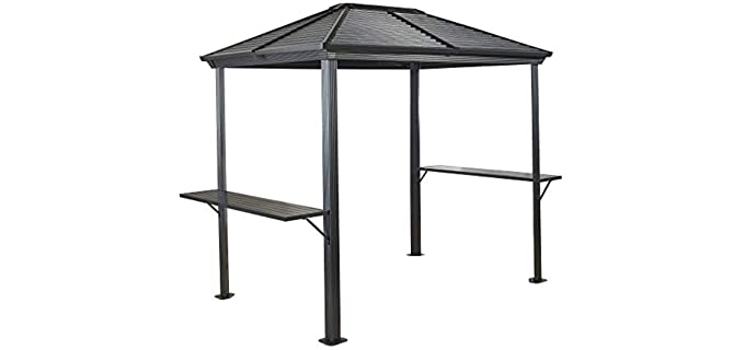 Sojag Ventura - Hard Top Small Grill Gazebo