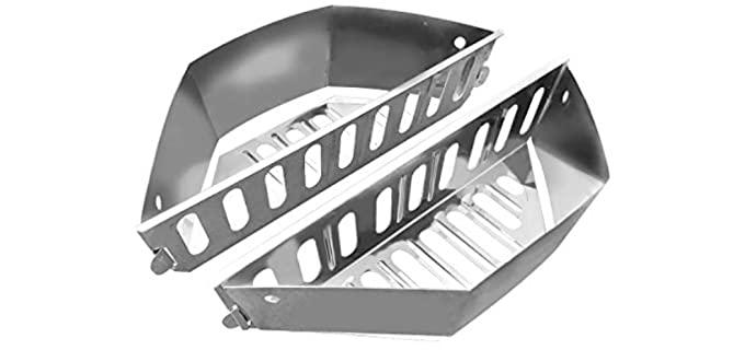 GRILLVANA Heavy Duty - Charcoal Basket