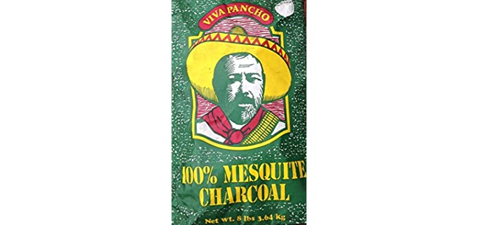 VIVA PANCHO Authentic - Mesquite Lump Charcoal