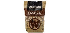 Western Premium BBQ Products - Maple Wood for Smoking Turkey