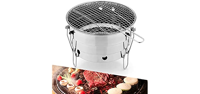 MEET GRILL Camping - Lightweight Camping Grill With Stove